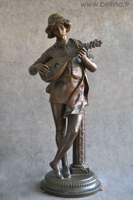 Paul Dubois (sculptor) Le bronze Chanteur Florentin de Paul Dubois