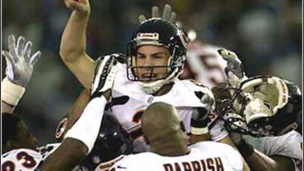 Paul Edinger Bears Boot Lions39 Playoff Hopes CBS News