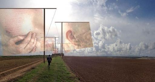 Paul Emmanuel (artist) South African artist Paul Emmanuels installation Lost Men France
