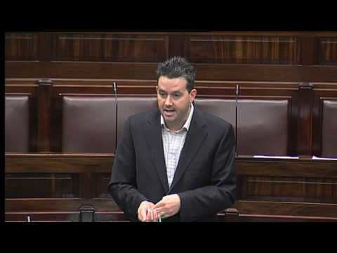 Paul Gogarty Paul Gogarty from the Greens cursing in the Dail YouTube
