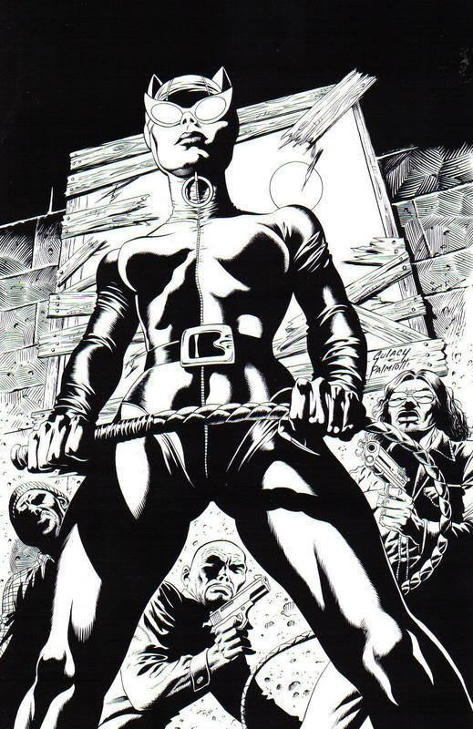 Paul Gulacy Spotlight on Paul Gulacy Shades of bampw and color in