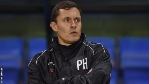 Paul Hurst Paul Hurst Grimsby Town boss has not been tempted away from