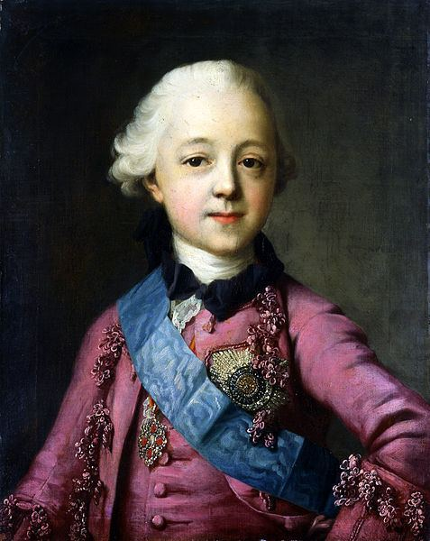 Paul I of Russia Reinette Family of Emperor Paul I of Russia