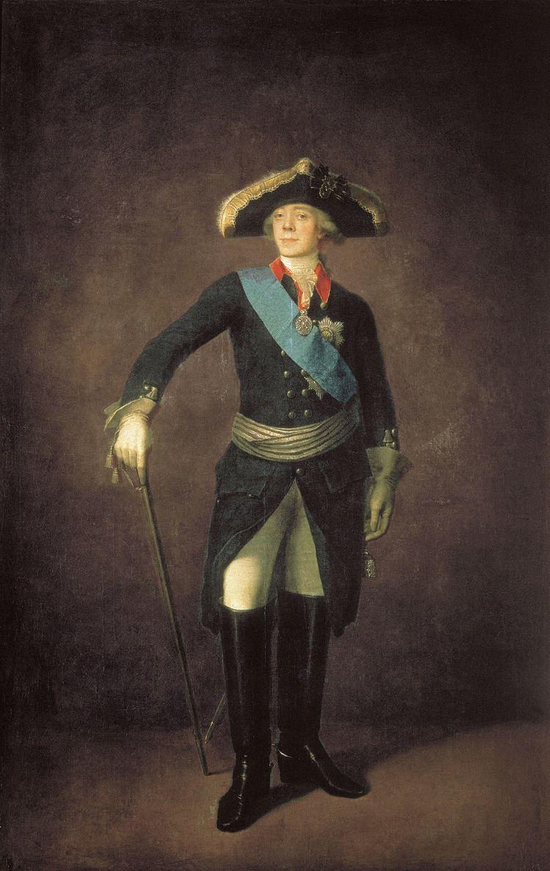 Paul I of Russia FilePaul I of Russia by Stepan Shchukin 1797 Tretyakov