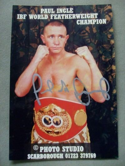 Paul Ingle Paul Ingle Former World Featherweight Champion Signed Promotional