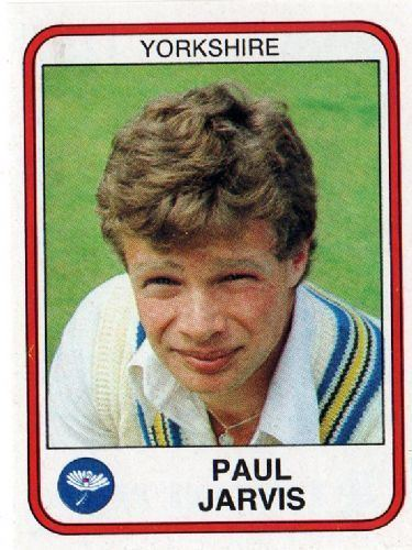 Paul Jarvis (Cricketer) in the past