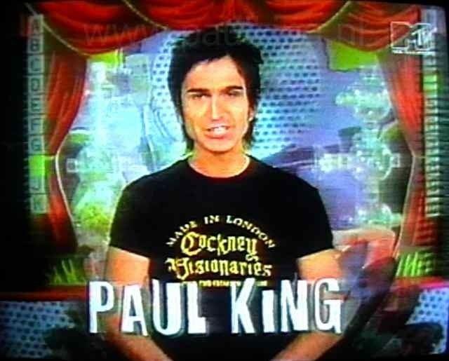 Paul King (musician) Paul King MTV Random Coolness For Me Pinterest Mtv