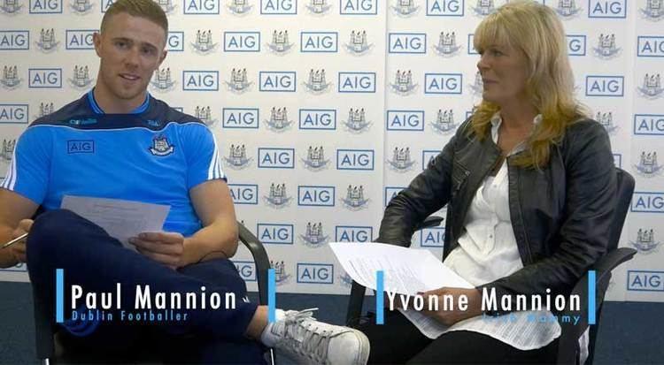 Paul Mannion Dublin Footballer Paul Mannion Interviewed by his Mother Dublin