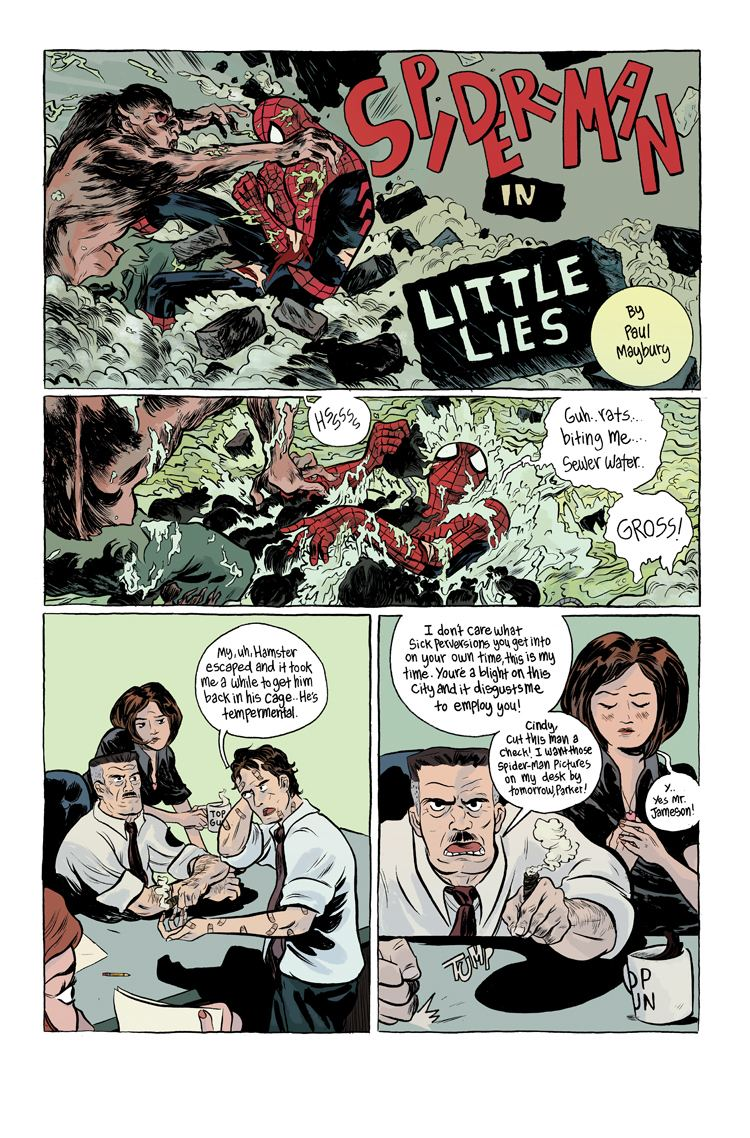 Paul Maybury From Sign Maker to SpiderMan Storyteller An Interview w