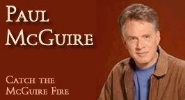 Paul McGuire (radio host) Paul McGuire Pope Who Lives Behind Giant Walls says Trumps Wall