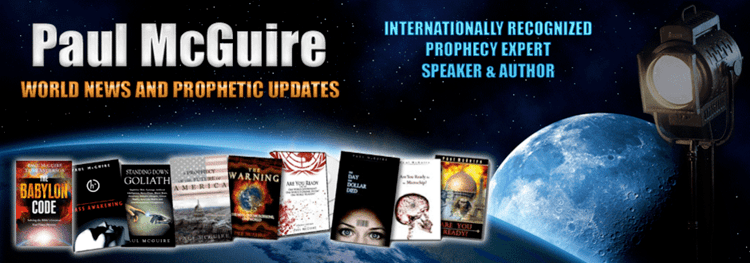 Paul McGuire (radio host) Paul McGuire Internationally Recognized Prophecy Expert
