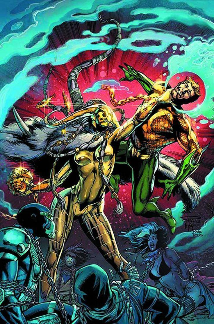 Paul Pelletier Aquaman Annual 1 Virgin Cover DC New52 Cover Artist