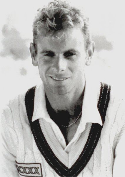 Paul Reiffel (Cricketer) playing cricket