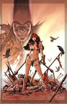 Paul Renaud Paul Renaud on Pinterest Red Sonja Comic Books and