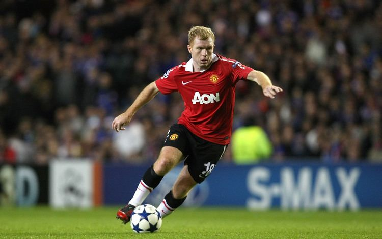 Paul Scholes uMAXit Football Remembering When Paul Scholes Unretired With