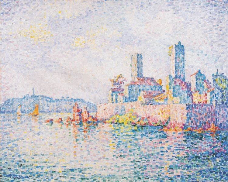Paul Signac Antibes the towers 1911 Paul Signac WikiArtorg