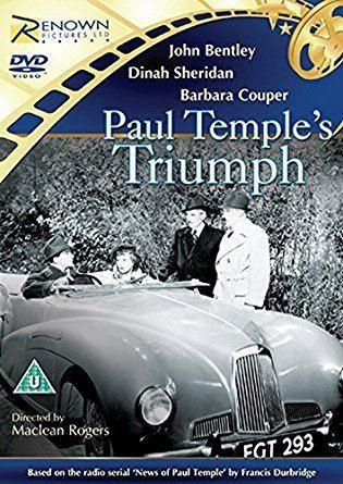 Paul Temple's Triumph Paul Temples Triumph DVD Amazoncouk John Bentley Dinah