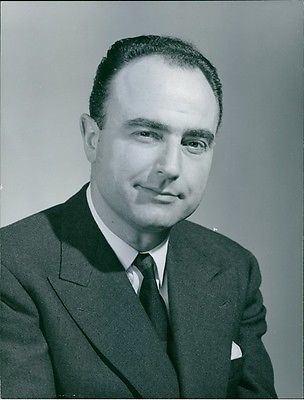 Paul Vanden Boeynants Vintage Photo Of Portrait Of Paul Vanden Boeynants Whats it worth