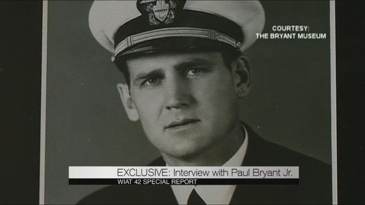 Paul W. Bryant Jr. The Bears Son Exclusive sitdown interview with Paul Bryant Jr