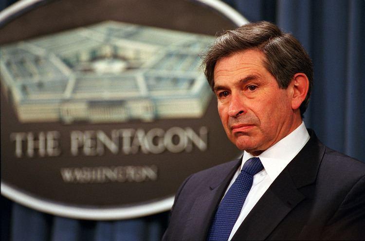 Paul Wolfowitz Deputy Secretary of Defense Paul Wolfowitz listens to a