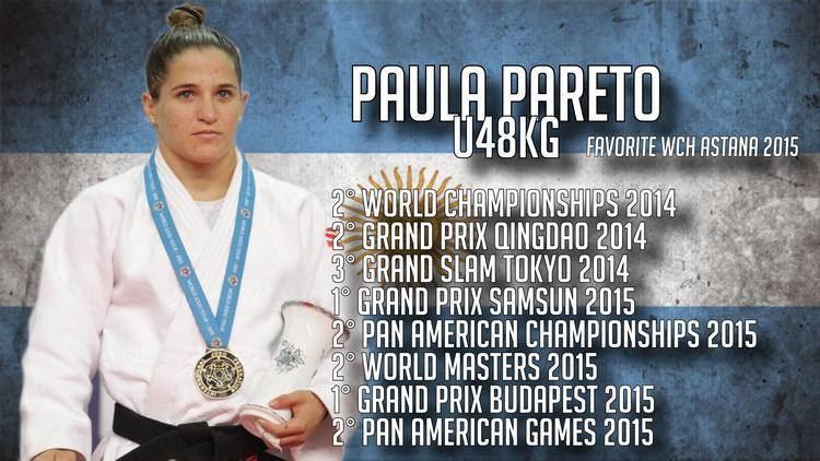 Paula Pareto JudoInside News Argentine Paula Pareto World Champion U48kg