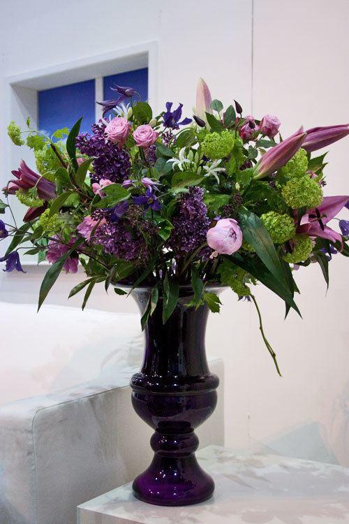 Paula Pryke Paula Pryke39s floristry demonstration at the Ideal Home