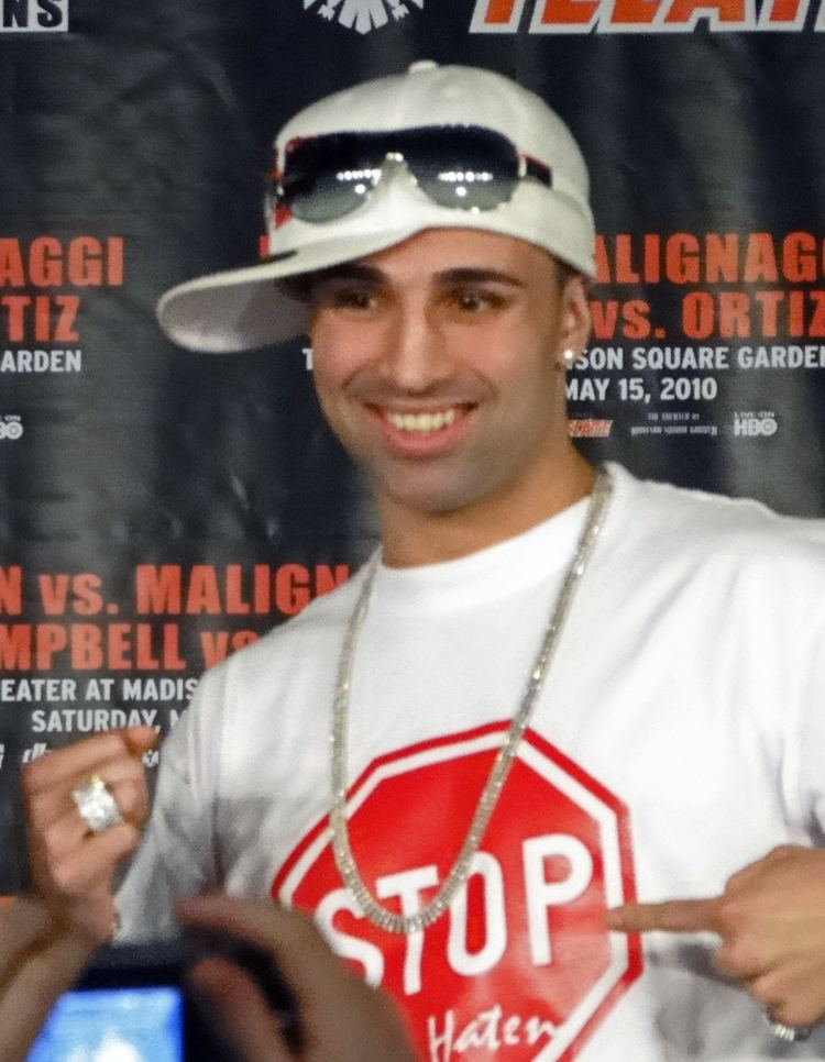 Paulie Malignaggi Paulie Malignaggi Wikipedia the free encyclopedia