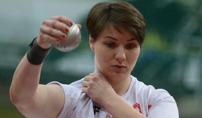 Paulina Guba HME Paulina Guba w finale pchnicia kul Sport WPPL