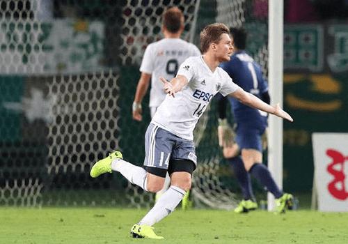 Paulo Roberto Gonzaga Kuniy W Com gol marcado por Paulo Roberto Gonzaga Matsumoto