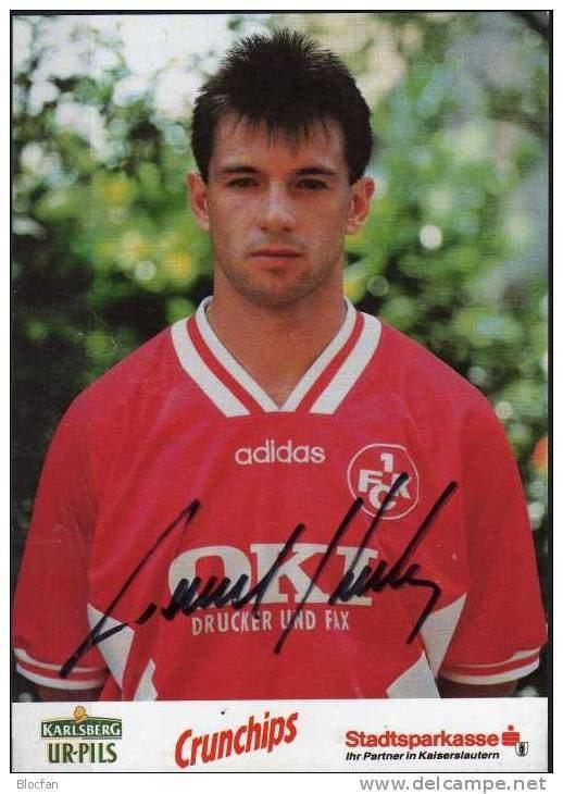 Pavel Kuka Autogrammkarte Pavel Kuka Fussball 5 1FCK