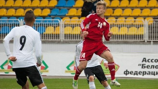 Pavel Nazarenko Pavel Nazarenko Belarus Under19 nav UEFAcom