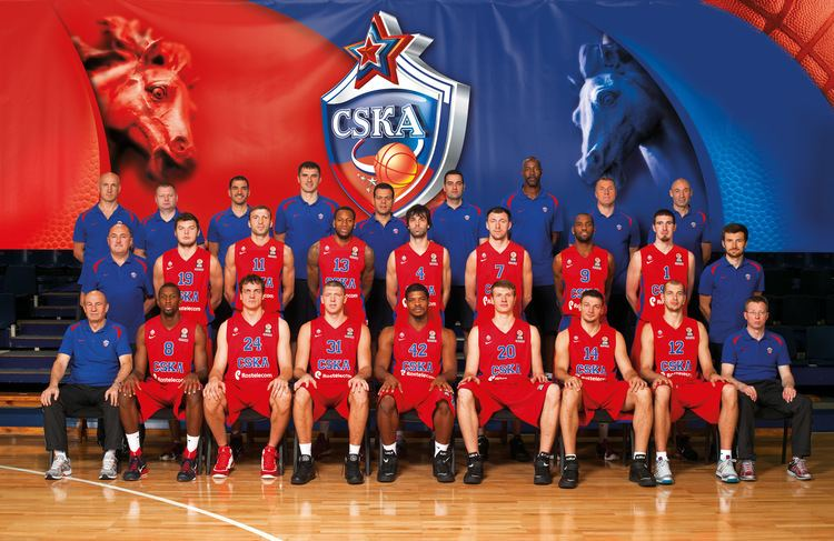 PBC CSKA Moscow PBC CSKA Moscow Team Senior Team Players