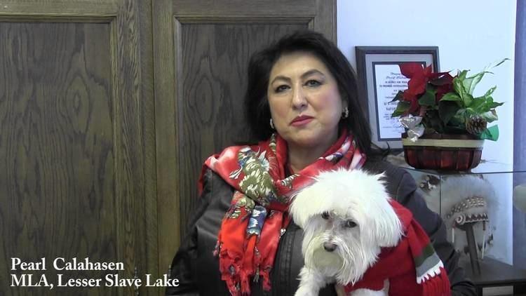 Pearl Calahasen Happy Holidays from Pearl Calahasen MLA YouTube