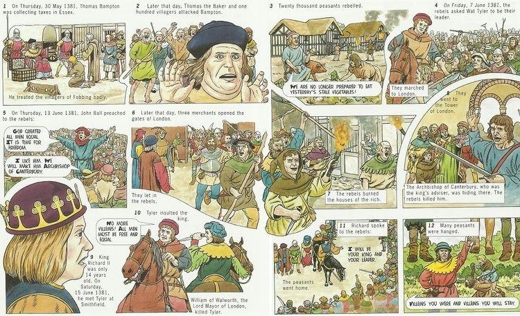 Peasants' Revolt Key Stage 3 at wwwjohndclarenet