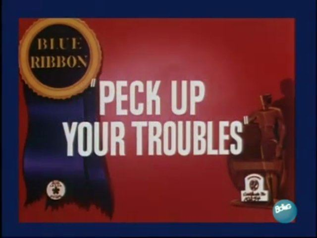Peck Up Your Troubles Peck Up Your Troubles 1945 Video Dailymotion