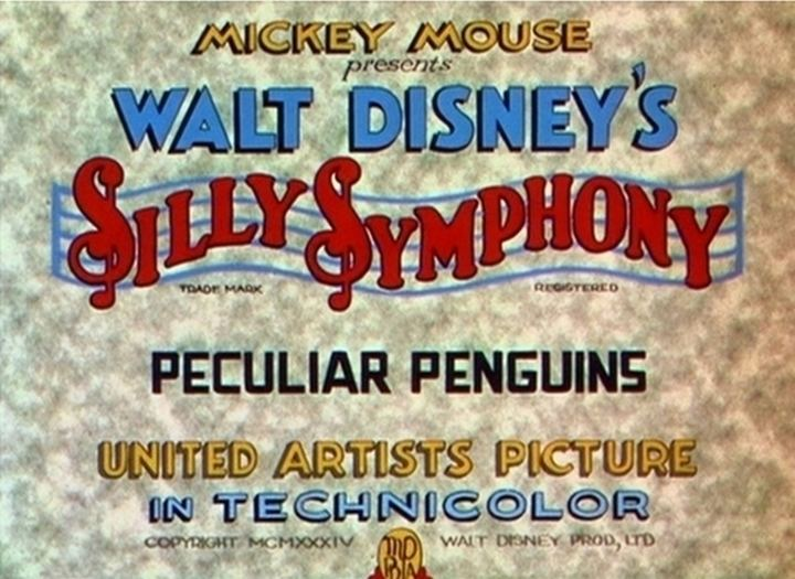 Peculiar Penguins Peculiar Penguins 1934 The Internet Animation Database