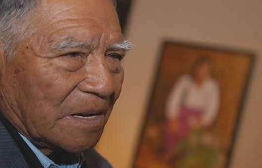 Pedro Azabache Bustamante CONTEXTO Falleci reconocido pintor mochero Pedro Azabache