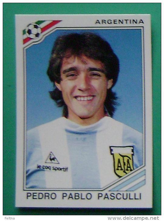 Pedro Pasculli PEDRO PABLO PASCULLI ARGENTINA MEXICO 1986 177 PANINI