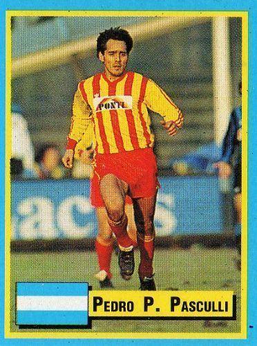 Pedro Pasculli LECCE Pedro Pasculli TOP Micro Card Italian League 1989