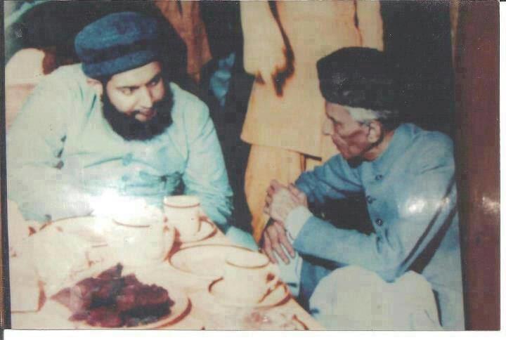 Peer Jamaat Ali Shah Muhammad Ali Jinnah with Pir Syed Jamaat Ali Shah We Want Change