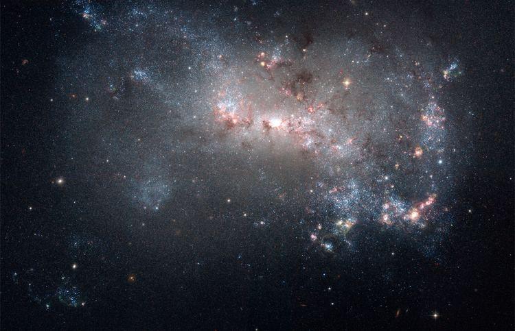 Pegasus Dwarf Irregular Galaxy JeanBaptiste Faure Hubble captures Stellar Fireworks in Dwarf