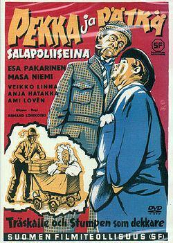 Pekka and Pätkä Pekka ja Ptk salapoliiseina Wikipedia