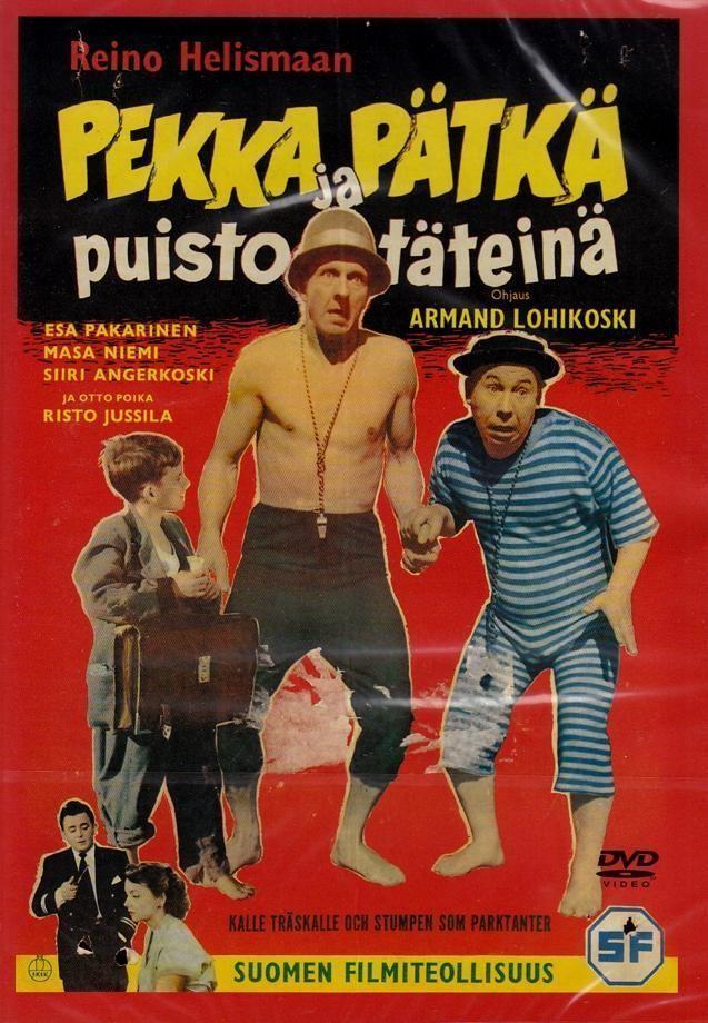 Pekka and Pätkä Pekka ja Ptk puistottein Wikipedia