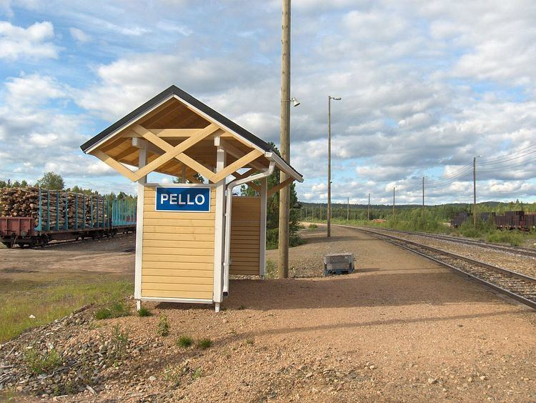Pello railway station