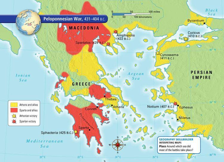 Peloponnesian War Peloponnesian War 6th Grade Social Studies