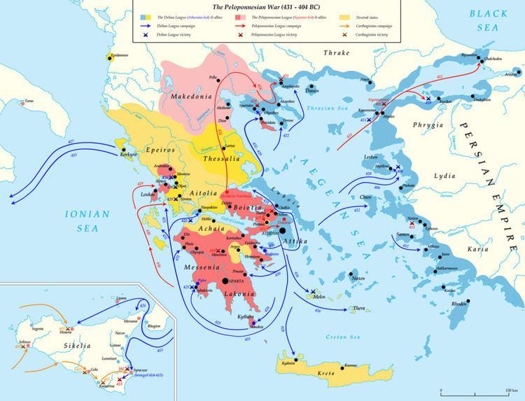 Peloponnesian War Peloponnesian War Summary Part One Classical Wisdom Weekly