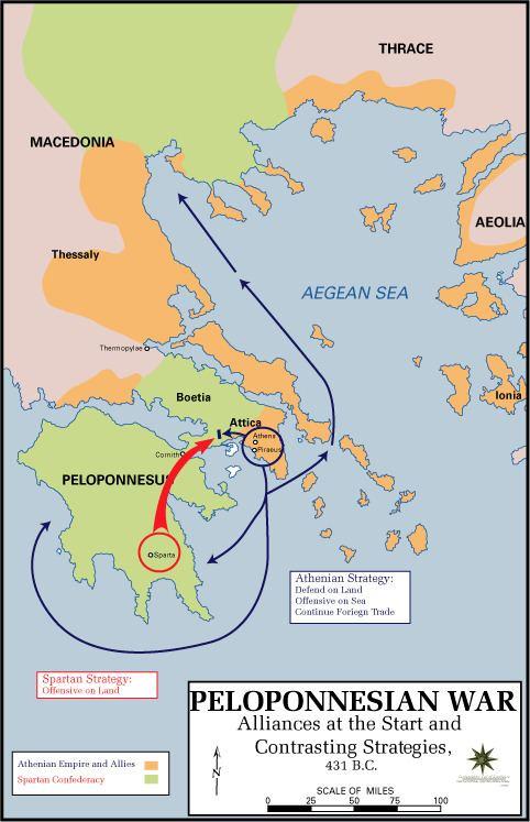 Peloponnesian War Peloponnesian War Wikipedia