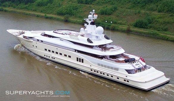 Pelorus (yacht) Pelorus Lurssen Yachts Motor Yacht superyachtscom