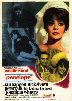 Penelope (1966 film) Rare Film TV Classic Movies on DVD Natalie Wood is Penelope 1966