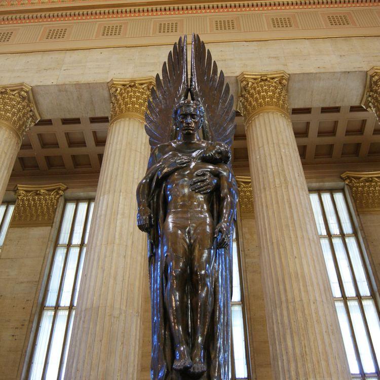 Pennsylvania Railroad World War II Memorial Pennsylvania Railroad War Memorial Association for Public Art